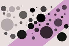 Circles Illustration. A nice Illustration white some different coloured circles Royalty Free Stock Images