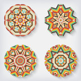 Circles kaleidoscopes Stock Photography