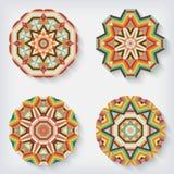 Circles kaleidoscopes Stock Photography