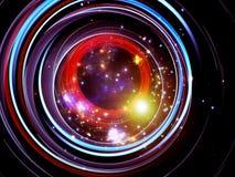 Circles of Light Stock Image