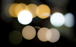 Circles of light, abstract Royalty Free Stock Photography