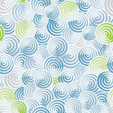 Circles and lines seamless pattern. Stock Images