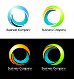 Circles Logo Stock Photography