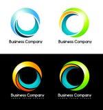 Circles Logo Stock Photography