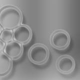 Circles looking glass Stock Photo