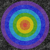 Circles on a mohair. Background, colored circles on a fabric, natural wool mohair Stock Image