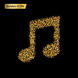 Circles music Icon. Royalty Free Stock Images