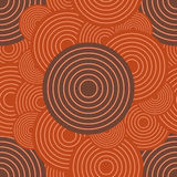 Circles ornament seamless pattern Royalty Free Stock Photo