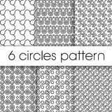 Circles patter Royalty Free Stock Images