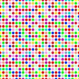 Circles pattern. In fashion trend colors Royalty Free Stock Photo