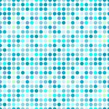 Circles pattern. In fashion trend colors Royalty Free Stock Photos