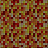 Circles pattern. In fashion trend colors Royalty Free Stock Images