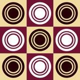 Circles Pattern Stock Photography