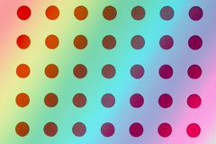 Circles pattern background, bright gradient mosaic backdrop royalty free stock images