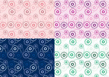 Circles pattern. A collection of circles pattern for every purposes Stock Images