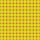 Circles pattern seamless. In orange and yellow Royalty Free Stock Photography