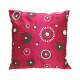 Circles pillow Stock Photography