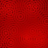 Circles on red background. Circles with spots of dark red on orange-red background. Abstract background and pattern Royalty Free Stock Photos