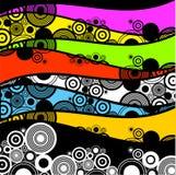 circles retro διανυσματική απεικόνιση