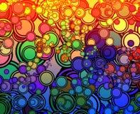 circles retro Απεικόνιση αποθεμάτων