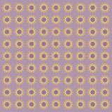 Circles retro style pattern Stock Photos
