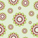 Circles retro style seamless pattern. Abstract colorful circles retro style seamless pattern EPS10 Royalty Free Stock Photo