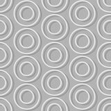 Circles of seamless background. Abstract seamless pattern retro Stock Photography