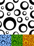 Circles seamless pattern Royalty Free Stock Image