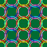 Circles seamless pattern Stock Photo