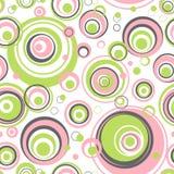 Circles seamless pattern. Royalty Free Stock Images