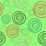 Circles seamless pattern Royalty Free Stock Images