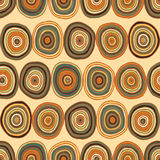 Circles seamless pattern Royalty Free Stock Photo
