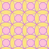 Circles Seamless Pattern texture Stock Image