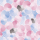 Circles seamless pattern. Stock Images