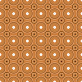 Circles seamless pattern,vector. Illustration of a circles seamless pattern,retro style.EPS file available Royalty Free Stock Image