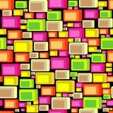 Circles seamless pattern Stock Photography
