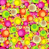 Circles seamless pattern Stock Images