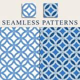 Circles seamless pattern Stock Image
