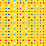 Circles seamless texture. Illustration vector illustration