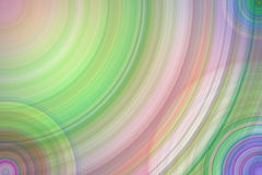 Circles shapes pastel background Royalty Free Stock Photo