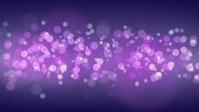 Particles Bokeh Background. stock footage