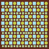Circles and squares Royalty Free Stock Image