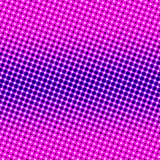 Circles stars pattern Royalty Free Stock Image