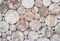 Circles of stones Stock Image