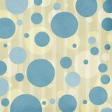 Circles on striped background Royalty Free Stock Photos