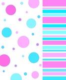 Circles and stripes Royalty Free Stock Photo
