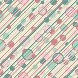 Circles-stripes-retro-bgr Royalty Free Stock Images
