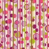 Circles stripes retro bgr Stock Images