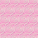 Circles and swirls vintage seamless pattern Stock Images