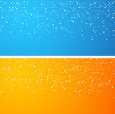 Circles technology banners Royalty Free Stock Image